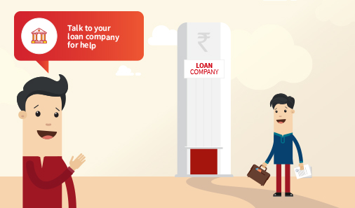 Mantra - 5 Talk to the loan company for help