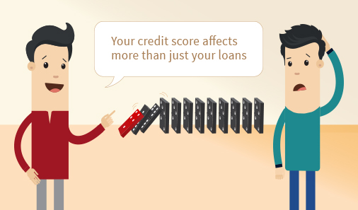Did you know your credit score doesn't just impact your borrowings but your job prospects as well
