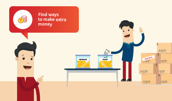Mantra 2 - Find ways to make extra money